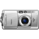 download Digital Camera clipart image with 315 hue color