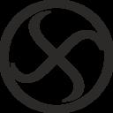 Swastika Encircled Rotating Left