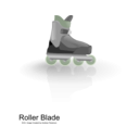 download Rollerblades clipart image with 45 hue color