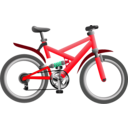 download Blue Bike clipart image with 135 hue color