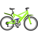 download Blue Bike clipart image with 225 hue color