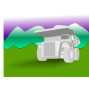 download Dump Truck clipart image with 45 hue color