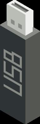 Cm Isometric Pendrive