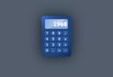 Blue Ui Calculator