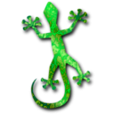 download Gecko 3 clipart image with 45 hue color