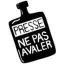 download Presse Ne Pas Avaler Press Dont Swallow clipart image with 225 hue color
