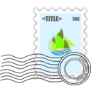 Postage Stampe Template