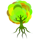 download Simple Tree 3 clipart image with 45 hue color