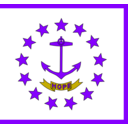 download Usa Rhode Island clipart image with 225 hue color