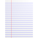 Lined Paper Icon