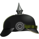 download Pickelhaube clipart image with 45 hue color