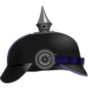 download Pickelhaube clipart image with 225 hue color