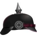 download Pickelhaube clipart image with 315 hue color