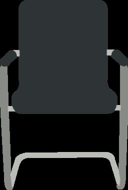Desk Chair Black Clipart | i2Clipart - Royalty Free Public ...
