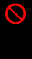 Sign No U Turn