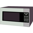 download Microwave Oven clipart image with 90 hue color