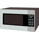 download Microwave Oven clipart image with 135 hue color