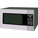 download Microwave Oven clipart image with 270 hue color