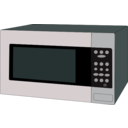 download Microwave Oven clipart image with 315 hue color