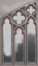 Neugotisches Fenster