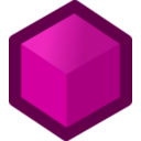 download Icon Cube Red clipart image with 315 hue color