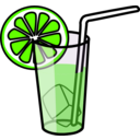 download Lemonade Glass clipart image with 45 hue color