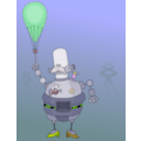 download Roboter clipart image with 45 hue color