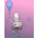download Roboter clipart image with 135 hue color