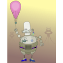 download Roboter clipart image with 225 hue color