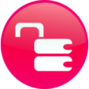 download Unsecure Lock clipart image with 315 hue color