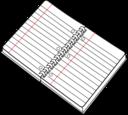Cahier Spirale Ouvert Open Spiral Notebook