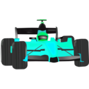 download Race Car clipart image with 135 hue color