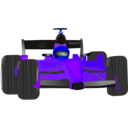 download Race Car clipart image with 225 hue color