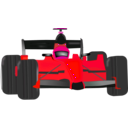 download Race Car clipart image with 315 hue color