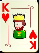 Ornamental Deck King Of Hearts