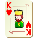 Ornamental Deck King Of Hearts