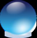 Blue Cristal Ball