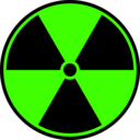 download Radioactive Symbol clipart image with 45 hue color