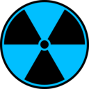 download Radioactive Symbol clipart image with 135 hue color