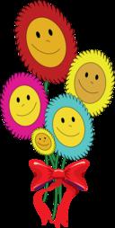 Happy Sun Flowers