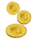 Gold Coin For Plotter