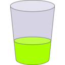 download Oranje Juice Glass Svg clipart image with 45 hue color