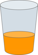 Oranje Juice Glass Svg