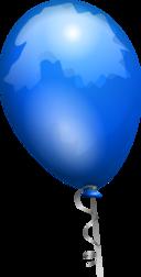 Balloon Blue Aj
