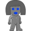 download Golem clipart image with 225 hue color