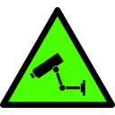 download Caution Cctv clipart image with 45 hue color