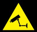 Caution Cctv