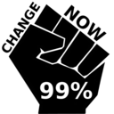 download Occupy Change clipart image with 315 hue color
