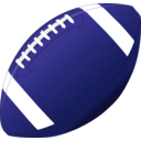 download Football clipart image with 225 hue color