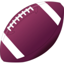 download Football clipart image with 315 hue color